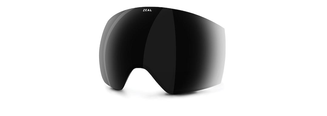 Eclipse Optimum Polarized Dark Grey Front View