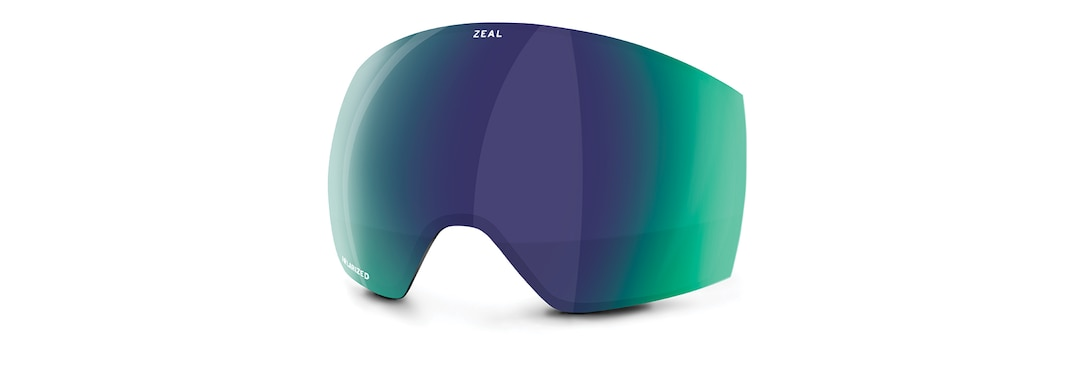 Slate Optimum Polarized Jade Mirror Front View