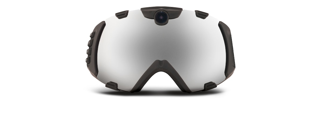 Black HD CAMERA GOGGLE front View