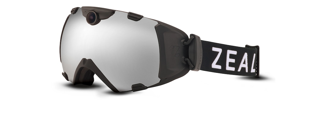 Black HD CAMERA GOGGLE angle View