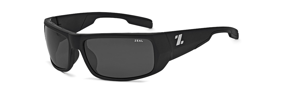 Matte Black SNAPSHOT angle zeal.pdp.label.view