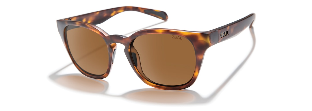 Matte Tortoise WINDSOR angle zeal.pdp.label.view