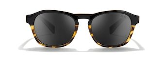 DAWN Black Tortoise Dark Grey Front View